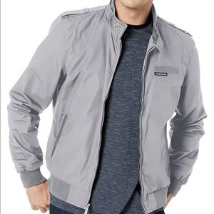 Members Only Iconic Racer Jacket in Grey